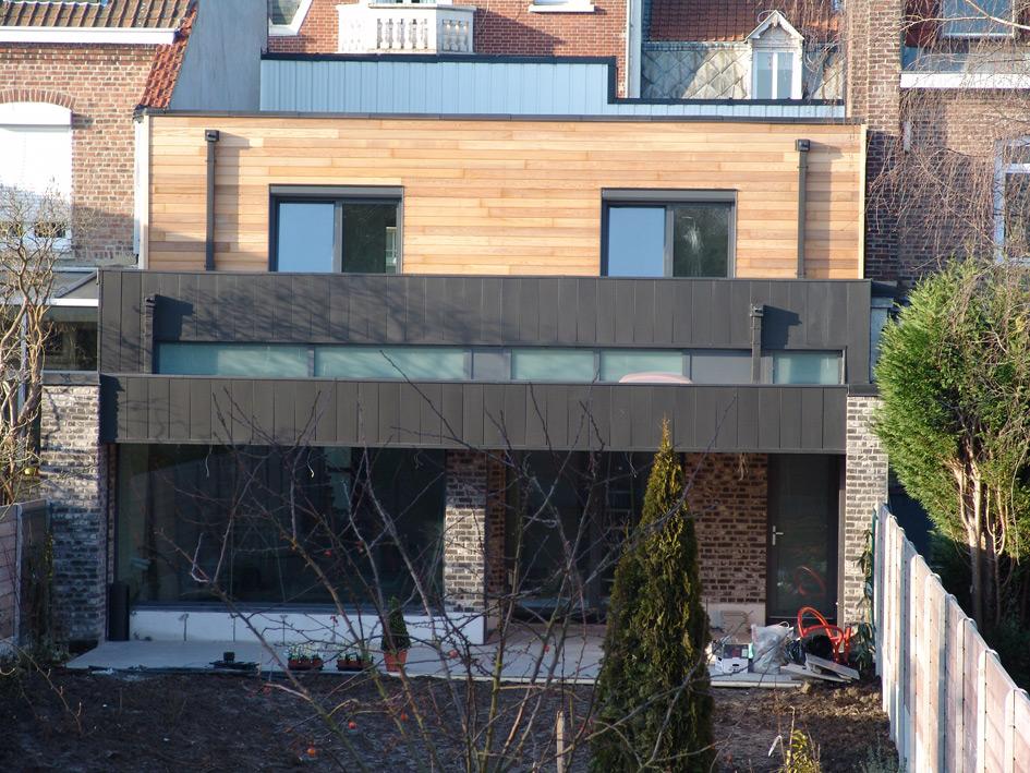 Maison neuve construction certifi e bbc ad architecture - Maison neuve bbc ...
