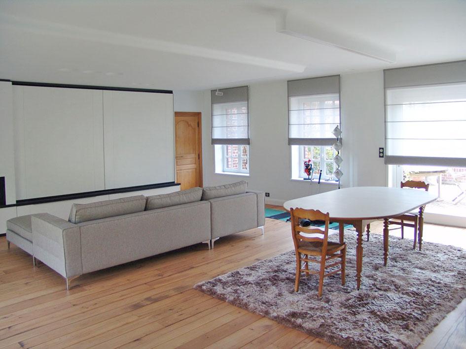 Maison contemporaine aménagement intérieur – AD Architecture